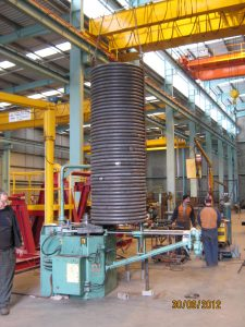 section-rolling-spiral-pipe-heating-coil