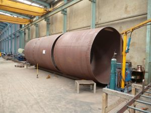 Steel Fabrication Construction Cylinder Assembly