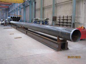 Steel Fabrication Construction Maritime Pylon