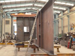 steel-fabrication-construction-support-beams
