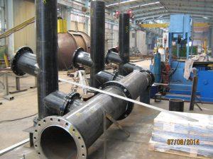 Steel Fabrication Mining Pipework