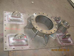 Steel Fabrication Mining Upcomer Lid